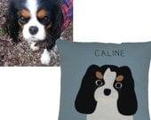 Dog Pillow, Custom Dog Pillow, Custom Pet Portrait, Pet Pillow, Pet Portrait Pillow, Custom Pet, Custom Dog, Custom Pet Portrait Pillow