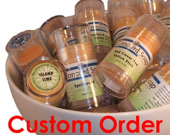 Custom Made SEASONAL Handmade Solid Lotion Stick - special order, lotion bar, scented,moisturizer, travel,convenient,push-up tube,heel stick
