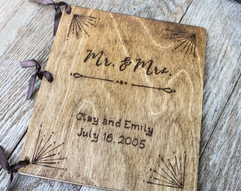 Wedding Guest Book, Wedding Guestbook, Rustic Guest Book, Rustic Guestbook,  wooden guestbook, rustic wedding guestbook, custom guestbook