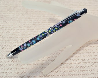 Touch Stylus Pen -  Dots - A MUST HAVE for iPads, iPhones, tablets, smart phones, and more- Writing Pen