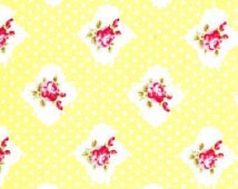 Taunya Whelan Yellow Dot Rosie Fabric Free Spirit
