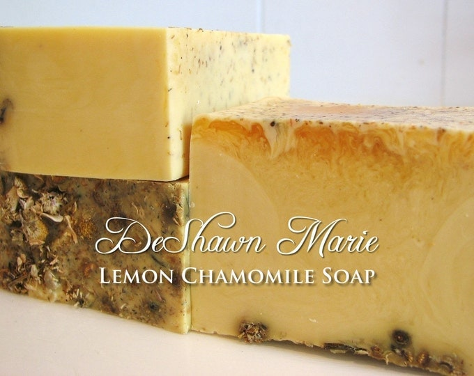 Lemon Chamomile Handmade Soap