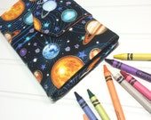 Crayon Wallet -  READY TO SHIP - Hip Trendy Travel -  Space