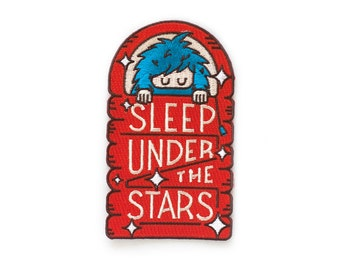 Bigfoot Sleep Under the Stars Patch