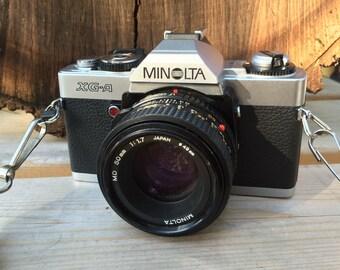 Minolta XG-A SLR 35mm camera-