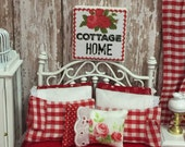 """Cottage Home Canvas Sign 2"""" x 2"""""""