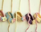 Crochet Booties, Baby Booties, Baby Booties with Flower, Cute Baby Ballet Slippers, Newborn Shoes, Cute Slippers, Beige, Ecru,Pink, Blue