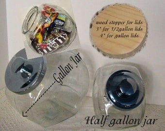Glass Cookie Jar, Candy Jars,Anchor Hocking Jar's,Multi Purpose Jar's