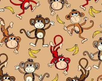 Shopping Cart Safety Harness Baby Toddler Child - Barrel of Monkey - See shop for 50+ fabric choices