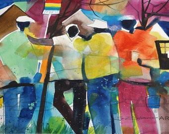 African Artwork Etsy