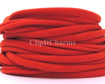 Wholesale .39+ Rust Stretch Nylon Chokers...Use for bottle cap jewelry,pendants,charms, headbands/doubles as a bracelet or anklet....