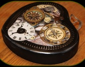 Steampunk style wall hanging