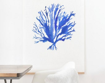 Sea Coral - Oversized Wall Art
