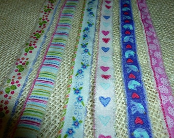 Valentine Trim - Or Spring Trm, Lots of USES for these cute Ribbons - You get ALL of them!