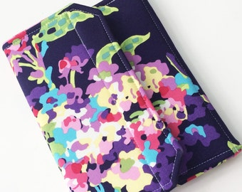Nook Glowlight Plus Standable Case, Kindle Paperwhite Case, Kindle Fire HD Cover, all sizes, Midnight Bouquet Tablet Cover