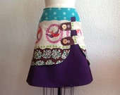 Reserved for Mireille- custom double layer skirt Sz 7