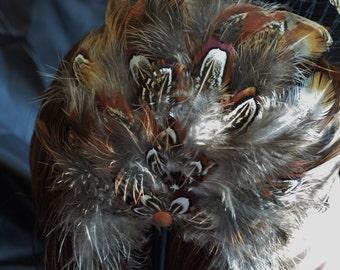 Pheasant Feather Fascinator Headband