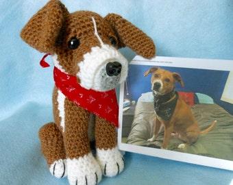 Custom Crochet Dog, Look Like Owner's Dog, Stuffed Dog, Stuffed Animal, Canine, Pet Remembrance, Pet Memorial, Dog Lover, Look Alike