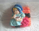 Nursery Rhyme Little Miss Muffet  Button Mother Goose