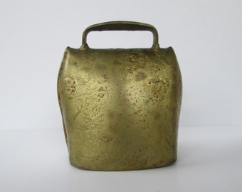 Old Brass Cow Bell
