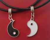 Yin Yang Necklaces Leather to share