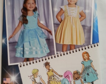 Simplicity 1171 Formal Toddler Child Dress Pattern Size 4-8 Uncut Project Runway Inspired Childs Wedding wear Flower Girl