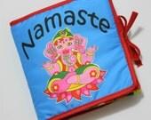Namaste Baby Soft Cloth Rag Fabric Book