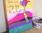 Canvas Print : Joy Rising #3-IPCP