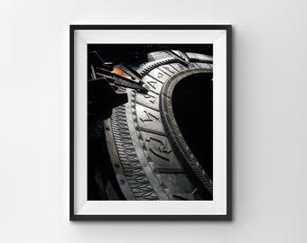 "Printed Photo 8x10 ""The Gate"" Original Stargate SG-1 Photograph"