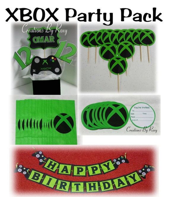 Xbox party pack