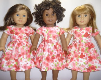 Spring Dress for American Girl