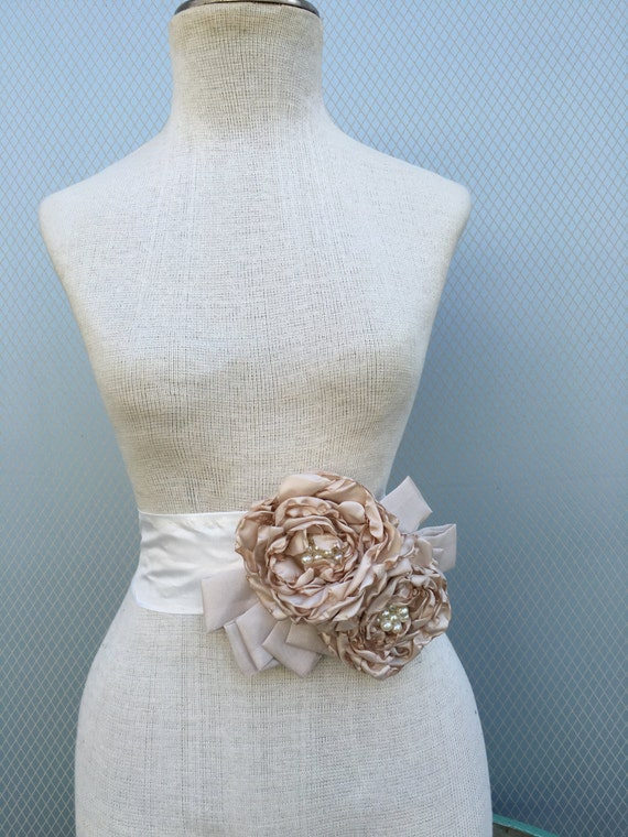 Wedding Dress Accessories Belt : Bridal sash wedding bridesmaids belt