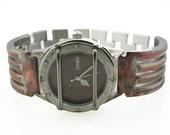 Men's Watch with Date, Copper Color Dial, Waterproof