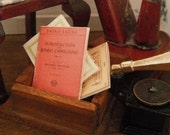 ON SALE Miniature Classical Music Sheets
