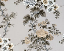 Pyne Hollyhock Print by Schuamcher Fabric/Home and Living/Pillow Fabric/By The Yard