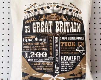 SS Great Britain tote bag