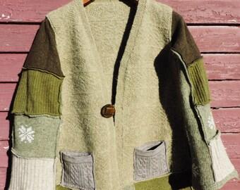 Gypsy BoHo Sweater Coat