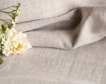 RW 437 antique handloomed laundered 1.39 yards french 리넨 two-toned upholstering curtain projects wedding GREYISH-BROWN