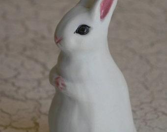 white porcelain woodland mother bunny rabbit