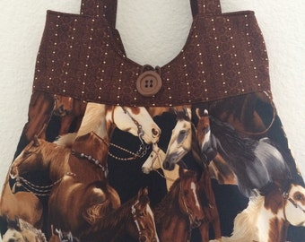 Way Out West Horse Purse