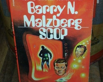 Scop by Barry N Malzberg Vintage Paperback Book