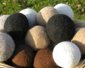 Alpaca Dryer Balls set of 8     Natural, Hand Made,Eco-Freindly,Saves you Money, Made in USA, Hypoallergenic, Perfect Gift