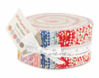 Moda Jelly Roll - 30's Playtime by Chloe's Closet