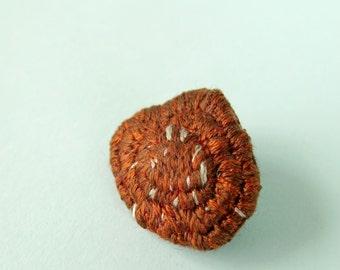 Ichthyosis Vulgaris Brooch Skin Disorder or Disease Pin Medical Brooch