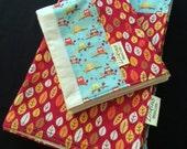 Owl Never Leaf You - Baby Blanket Swaddler and Burp Cloth