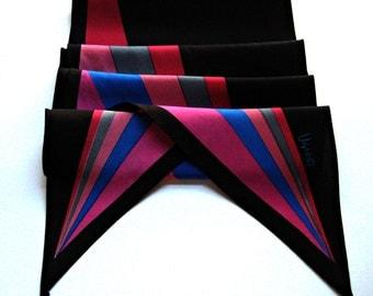 Vintage Vera Wingtip Geometric Print Scarf