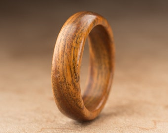Size 8.25 - Guayacan Wood Ring No. 401