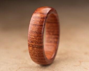 Size 7 - Mopani Wood Ring No. 116