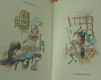 Little Girls by Stina Nagel 1965