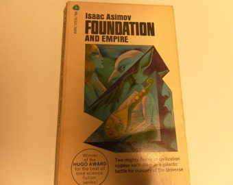 FOUNDATION and Empire by Isaac Asimov vintage paperback 1968